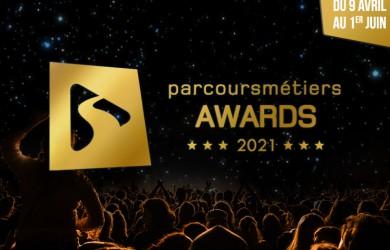 Le festival PARCOURSMÉTIERS AWARDS 2021 débute le 9 avril !