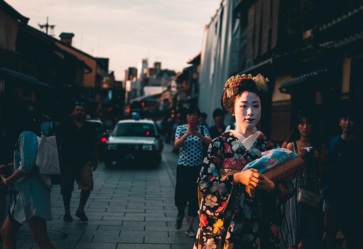 Geisha, la voie de l'apprentissage