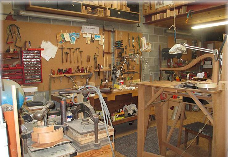 Les métiers de l'ébénisterie : sculpteur de bois